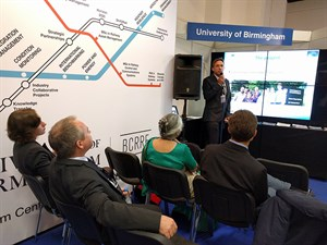 AutoScan consortium partners University of Birmingham, I-MOSS and Nomad had a successful InnoTrans 2016, the biggest trade fair for transport technology